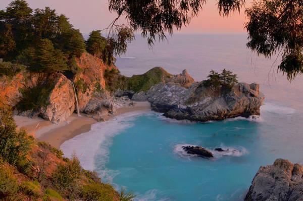 Wall Art - Photograph - Mcway Falls - Big Sur by Stephen  Vecchiotti