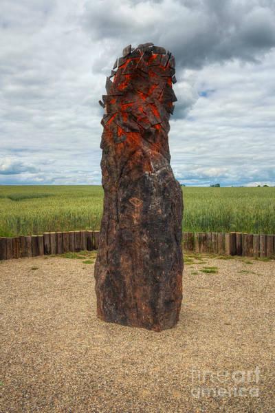 Wall Art - Digital Art - menhir Stone Shepherd by Michal Boubin