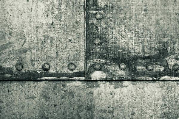 Aluminum Wall Art - Photograph - Metallic Background by Tom Gowanlock