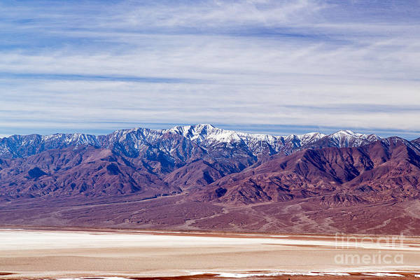 Death Valley Np Photograph - Natural Bridge Canyon Death Valley National Park by Fred Stearns