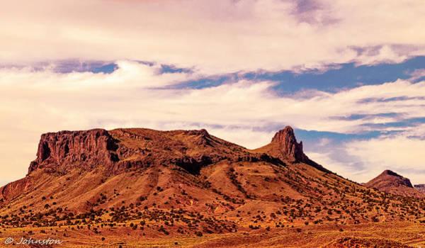 Digital Art - Navajo Nation Series Along 87 And 15 by Bob and Nadine Johnston