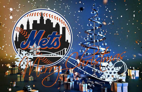 Met Photograph - New York Mets by Joe Hamilton