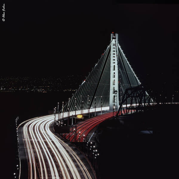 Oakland Bridge Art Print