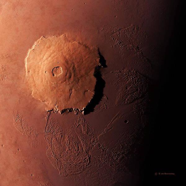 Olympus Mons Art Print