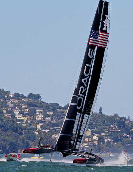 Photograph - Ac34 Winner Oracle by Steven Lapkin