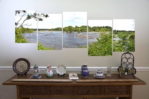 Photograph - 5-panel - James River by Gordon Elwell