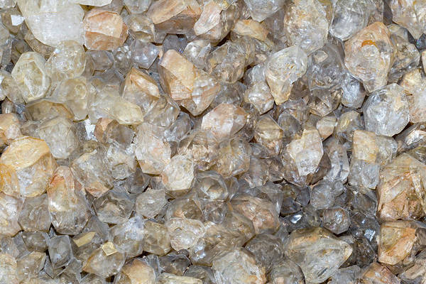 Wall Art - Photograph - Quartz Crystals by Science Stock Photography/science Photo Library