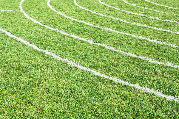 Athletic Photograph - Racing Track by Tom Gowanlock