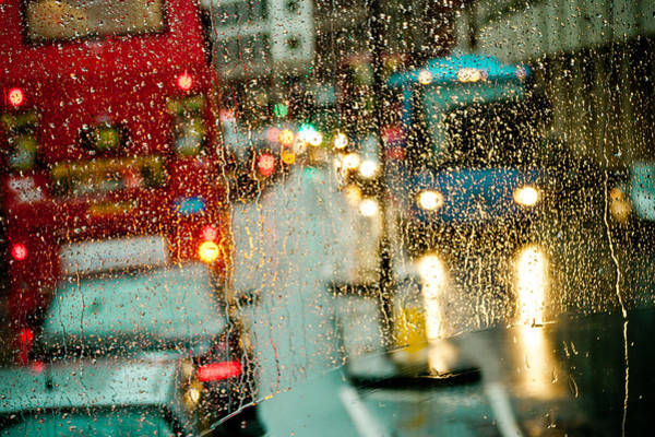 Photograph - Rainy Day In London by Raimond Klavins
