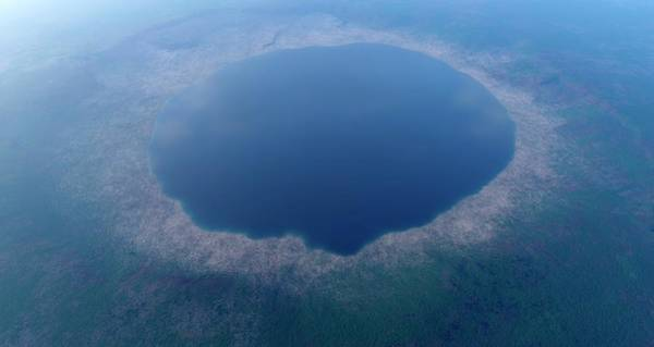 Meteor Crater Photograph - Ries Crater by Detlev Van Ravenswaay