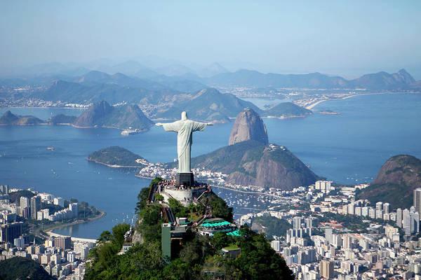 Redeemer Wall Art - Photograph - Rio De Janeiro, Brazil by Christophe Launay