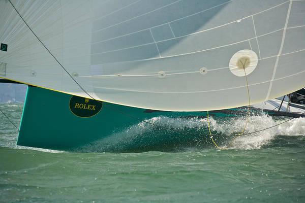 Photograph - Rolex Regatta by Steven Lapkin