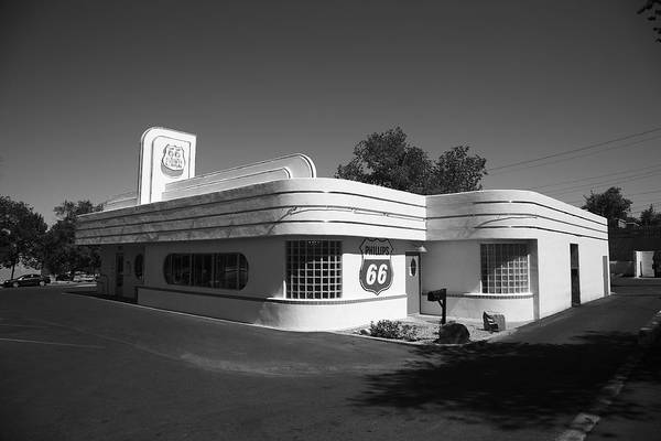 Photograph - Route 66 Diner by Frank Romeo
