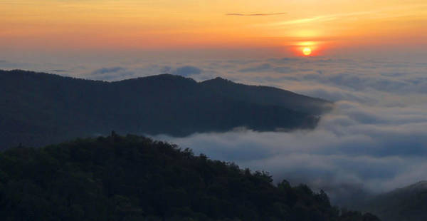 Wall Art - Photograph - Shenandoah Sunrise by Stephen  Vecchiotti