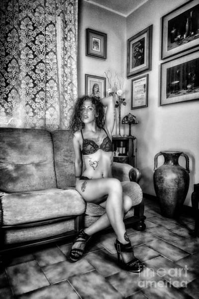 Photograph - Silvia by Traven Milovich