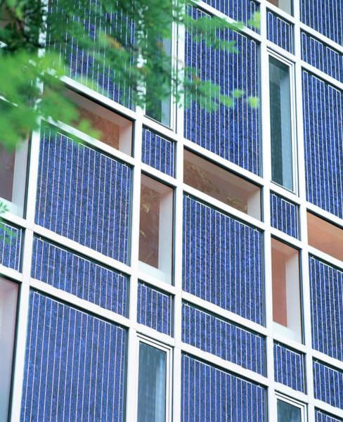 Wall Art - Photograph - Solar Panels by Martin Bond/science Photo Library
