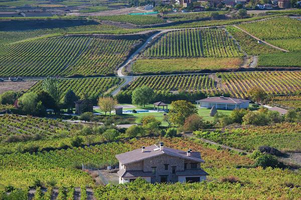 Basque Wall Art - Photograph - Spain, Basque Country Region, La Rioja by Walter Bibikow