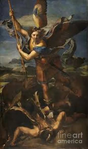 About Face Painting - St. Michael by Archangelus Gallery