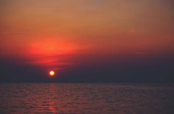 Disappearance Photograph - Sunset by FL collection