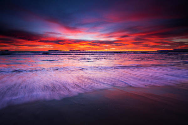Santa Cruz Island Wall Art - Photograph - Sunset Over The Channel Islands by Russ Bishop