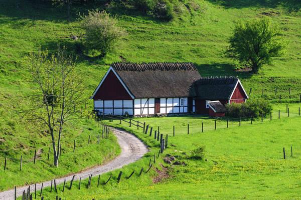 Skane Photograph - Sweden, Skane, Simrishamn, Verkeans by Fredrik Norrsell
