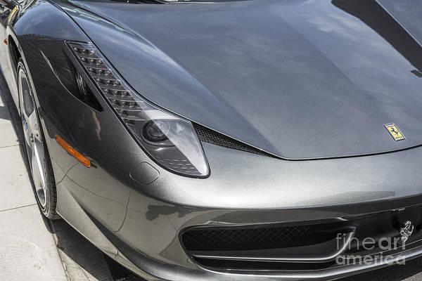 458 Photograph - Ferrari 458 by Jamie Pham