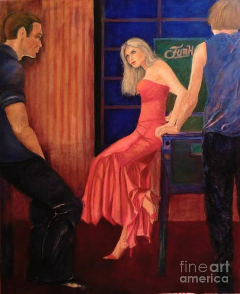 Painting - The Game by Dagmar Helbig