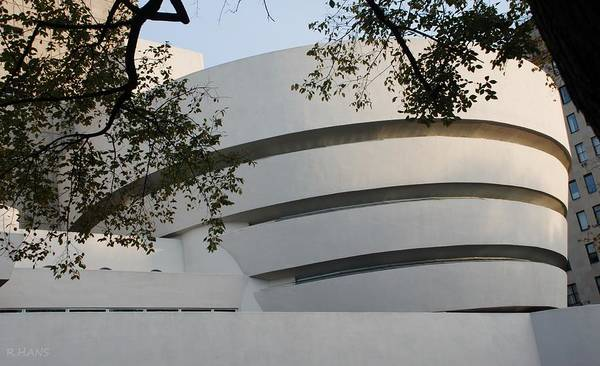 Photograph - The Guggenheim by Rob Hans