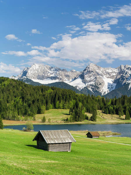 Central Europe Wall Art - Photograph - The Karwendel Mountain Range by Martin Zwick