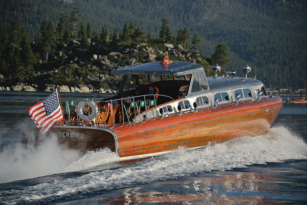 Photograph - Thunderbird On Lake Tahoe by Steven Lapkin