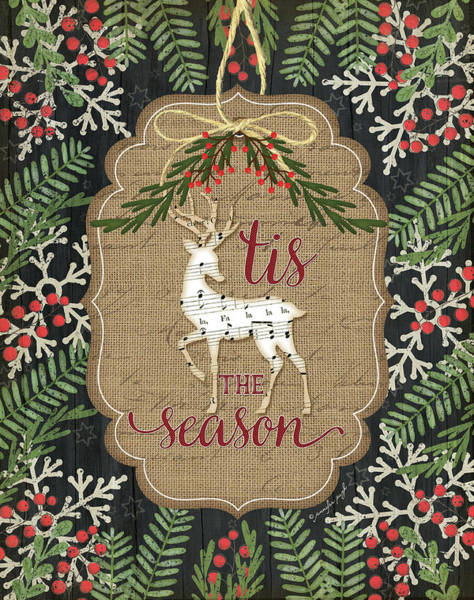 Wall Art - Painting - Tis The Season by Jennifer Pugh