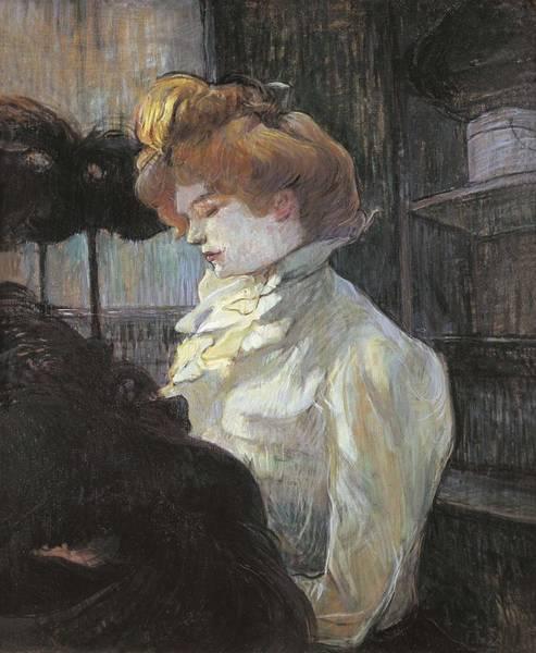 Modiste Photograph - Toulouse-lautrec, Henri De 1864-1901 by Everett