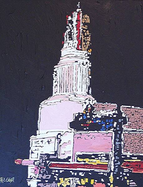 Tower Theatre Art Print by Paul Guyer