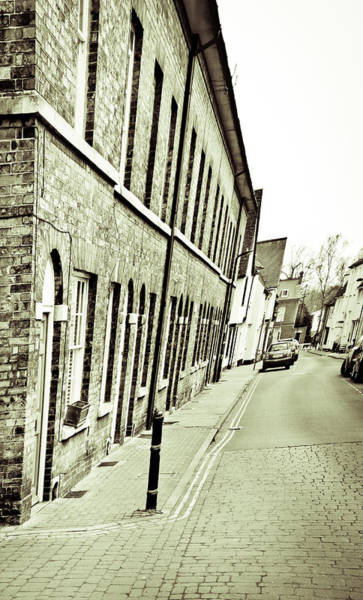 Brick House Photograph - Town Houses by Tom Gowanlock