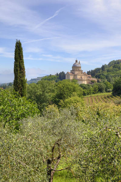 Madonna Photograph - Tuscany - Montepulciano by Joana Kruse
