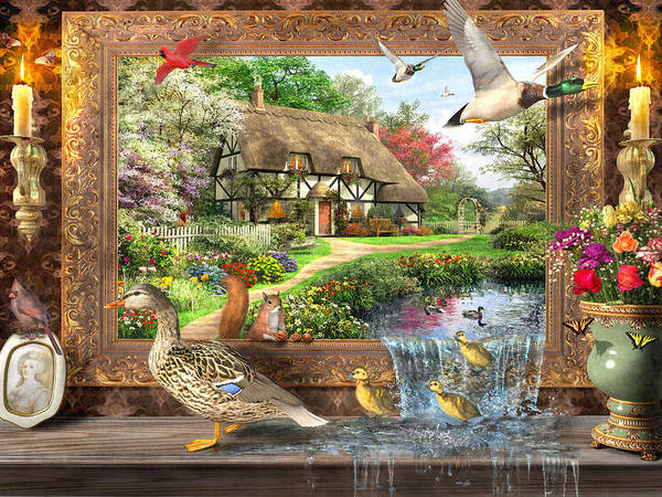 Traditional Home Digital Art - Still To Life by MGL Meiklejohn Graphics Licensing