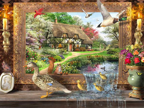 Wall Art - Digital Art - Still To Life by MGL Meiklejohn Graphics Licensing