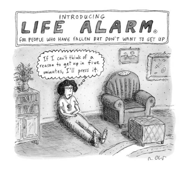 October 3rd Drawing - New Yorker October 3rd, 2016 by Roz Chast