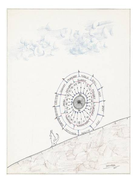 Cats Drawing - Sketchbook By Saul Steinberg by Saul Steinberg