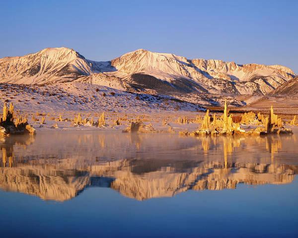 Carbonate Photograph - Usa, California, Mono Lake by Jaynes Gallery