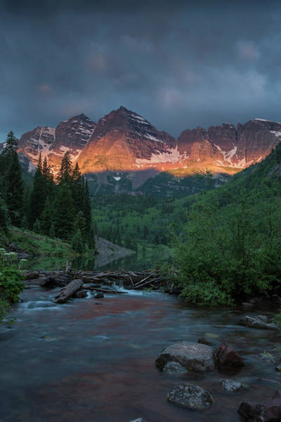 Bell Rock Photograph - Usa, Colorado, Maroon Bells State Park by Jaynes Gallery