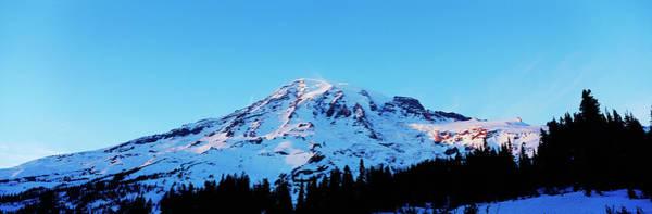 Wall Art - Photograph - Usa, Washington State, Mount Rainier by Paul Souders