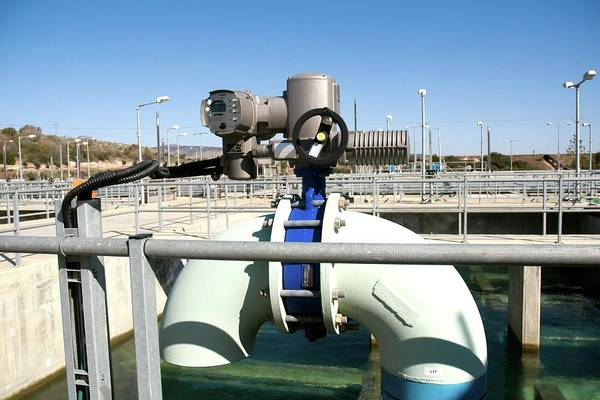 Israel Photograph - Water Treatment Plant by Photostock-israel/science Photo Library