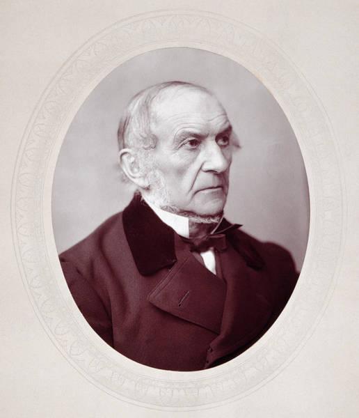Gladstone Wall Art - Photograph - William Ewart Gladstone (1809-1898) by Granger