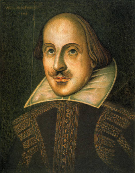 Wall Art - Painting - William Shakespeare (1564-1616) by Granger