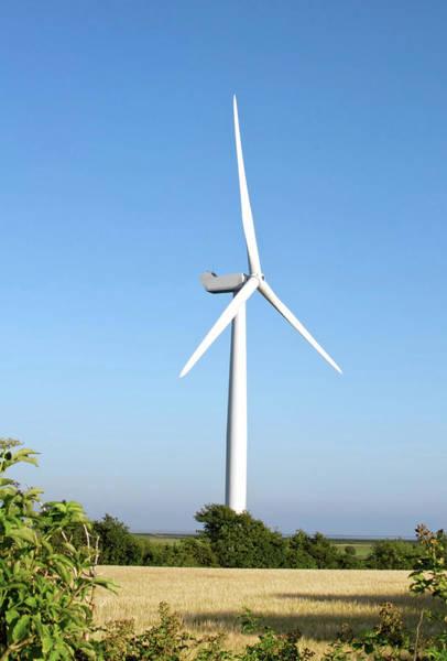 Wall Art - Photograph - Wind Turbine by Jesper Klausen / Science Photo Library