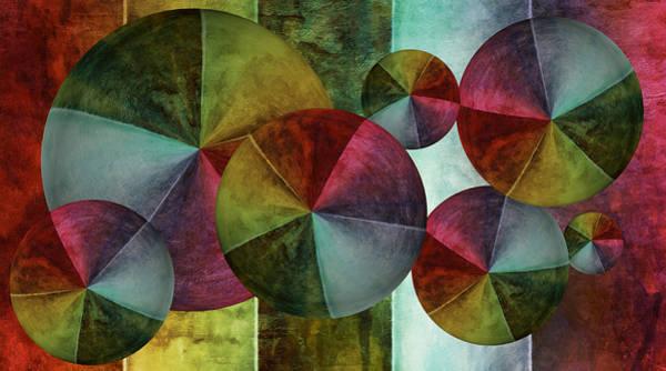 Digital Art - 5 Wind Worlds by Angelina Tamez