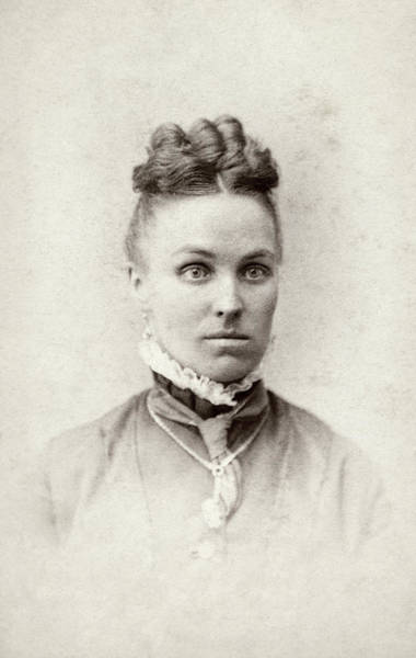 Photograph - Woman, C1880 by Granger