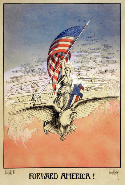 Painting - Wwi Poster, 1917 by Granger