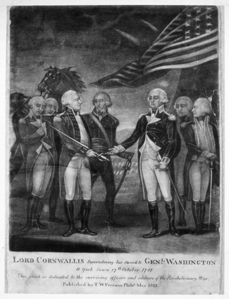 Photograph - Yorktown Surrender, 1781 by Granger
